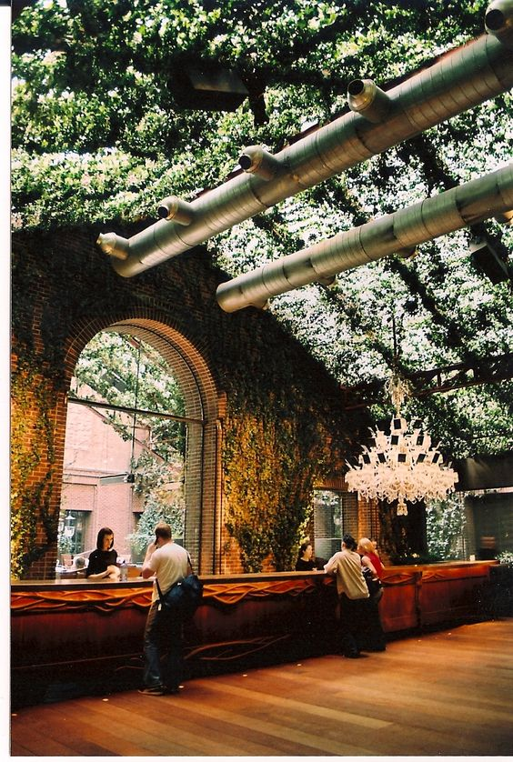 hotel | hudson hotel | by philippe starck | Best inspiration trends #modern #home #ideas | see more inspiring images at www.delightfull.eu/