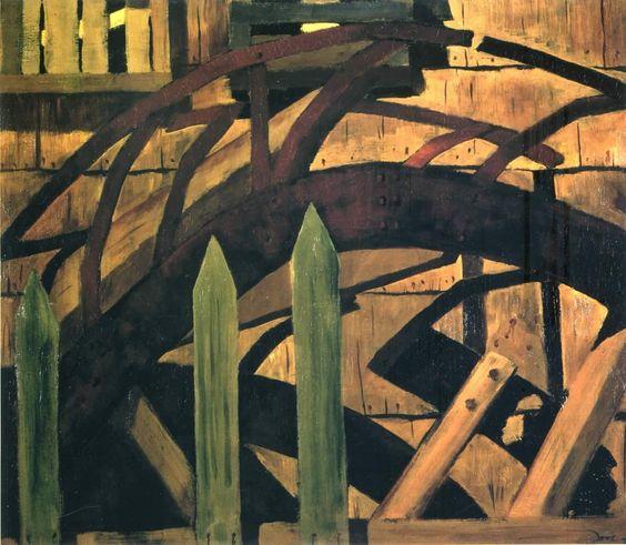 arthur dove | Arthur Dove Fence And Bridge
