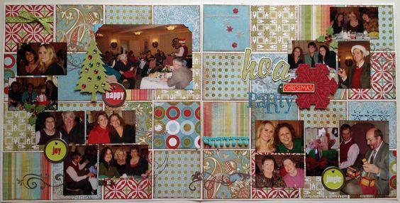 HOA Christmas Party - Scrapjazz.com