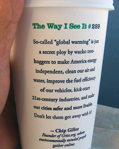 Starbucks Coffee Cup, The Way I See It #289