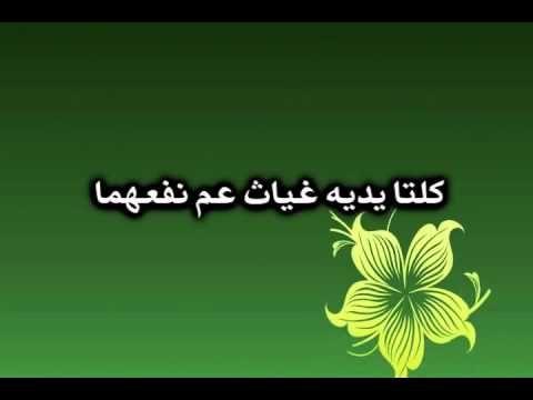 قصيدة الفرزدق يمدح زين العابدين هذا الذي تعرف البطحاء وطأته بالصوت والصورة مدونة الشيظمي Plant Leaves Home Decor Decals Arabic Poetry