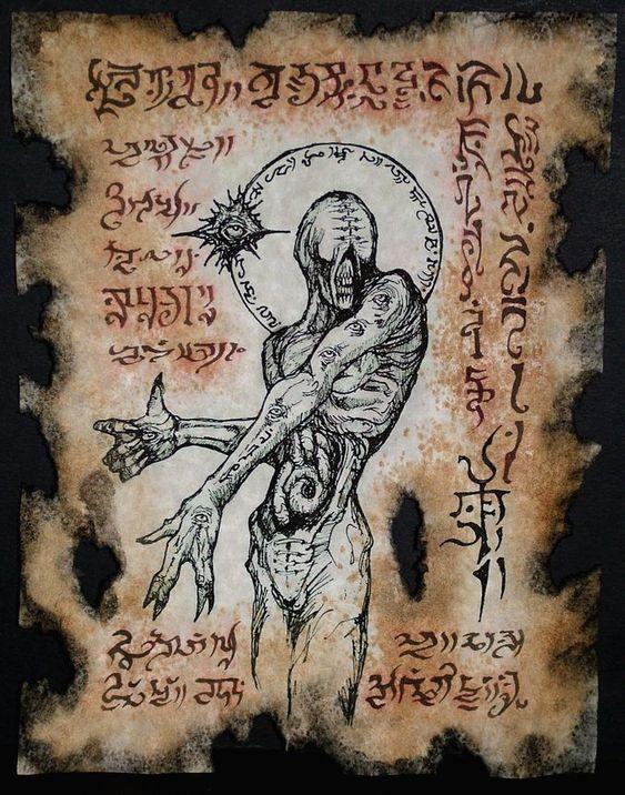 El Necronomicón,un libro salido de los infiernos 61d5f510fa28a6a4c37dce9ea380d788