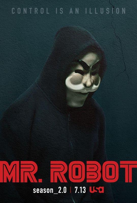 Mr. Robot: season_2.0 Promotional posters