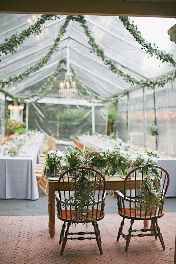 #sweetheart-table, #chair-decor  Photography: lane Dittoe fine art wedding photographs - lanedittoe.com Bouquets + Garland: Flower Wild - flowerwild.com Event Design: The Paper Arum - strychnosmilk.wix.com/thepaperarum  Read More: http://www.stylemepretty.com/2013/07/10/beverly-hills-wedding-from-lane-dittoe-fine-art-photographs/