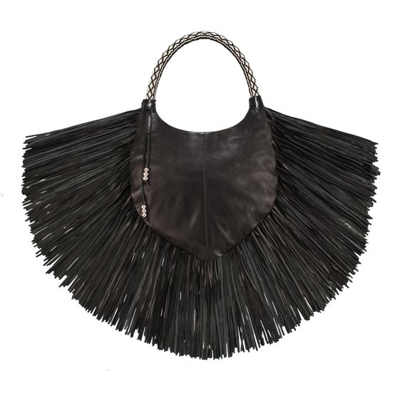 Tribal Fringe Bag on AHAlife, Barbara Bonner, $1,088