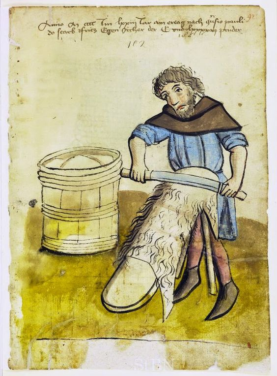 Medieval Leather tanning