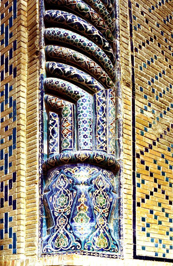 The Ulughbeg madrasas, 1417,(1995) Photography: Erdinç Bakla.