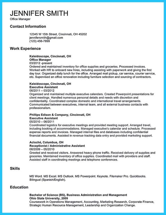 nice Impressive Professional Administrative Coordinator Resume - project assistant sample resume