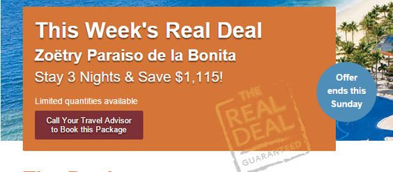 Zoëtry Paraiso de la Bonita Save $1,115 - https://traveloni.com/vacation-deals/zoetry-paraiso-de-la-bonita-save-1115/