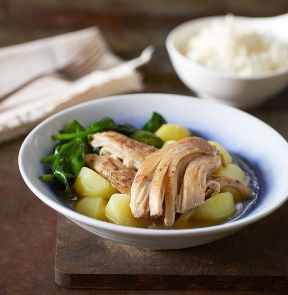 Crock-Pot Indian Chicken & Turnips Throw it together, let simmer while ...