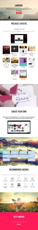 Landing WordPress Theme - Themify
