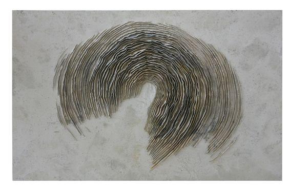 Guillem Nadal | s/t 27.3.12   Técnica mixta sobre tela 190 x 300 cm