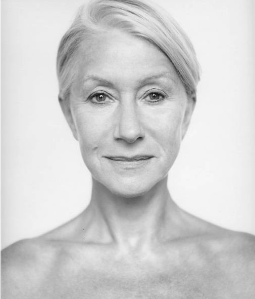 Helen Miren (or is it Mirren?) anyway, i aspire to be like this woman as i'm aging.  she is elegant, classy, sexy and funny and she sees fashion as ageless yet she can figure out how to pull it off w/o looking like an idiot.
