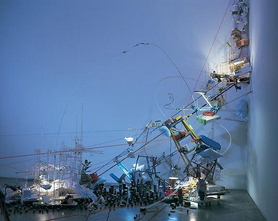 Sarah Sze - Art & Installation