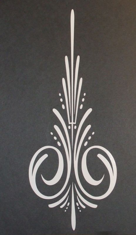 why do so many of my tat ideas come from pinstriping? lol
