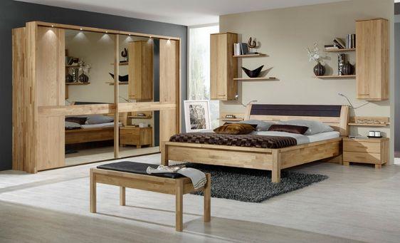 Beautiful Komplett Schlafzimmer Massiv Pictures - Rellik.us ...