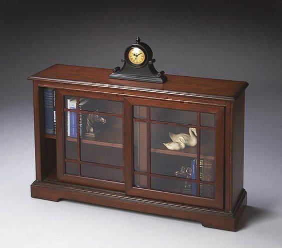 Butler Specialty Antique Cherry Bookcase Console - 3043011
