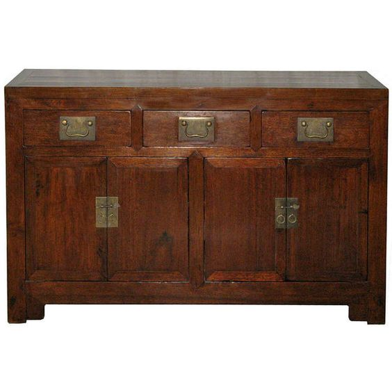 Elm Tanjian Buffet | From a unique collection of antique and modern furniture at http://www.1stdibs.com/furniture/asian-art-furniture/furniture/