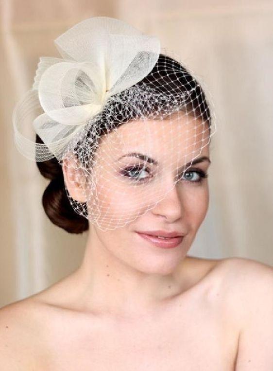 50 Blusher Veils And Bridcage For Brides Ideas Wedding Hats Bridal Hat Blusher Veil