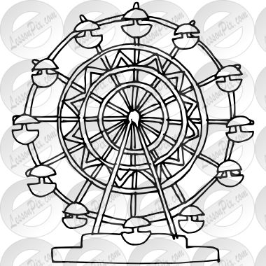 Ferris wheels, Wheels and Drawings on Pinterest
