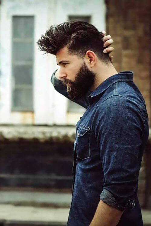 Choosing The Perfect Hairstyle And Beard Combination Hairstyle On Point Beard Styles For Men Beard Styles Best Beard Styles