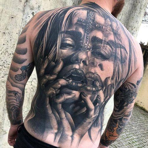 125 Best Back Tattoos For Men Cool Ideas Designs 2020 Guide Cool Back Tattoos Back Tattoos For Guys Full Back Tattoos