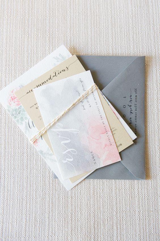 gostei do envelope cinza