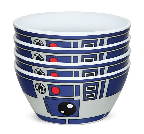 Star Wars R2-D2 Bowls - Set of 4: