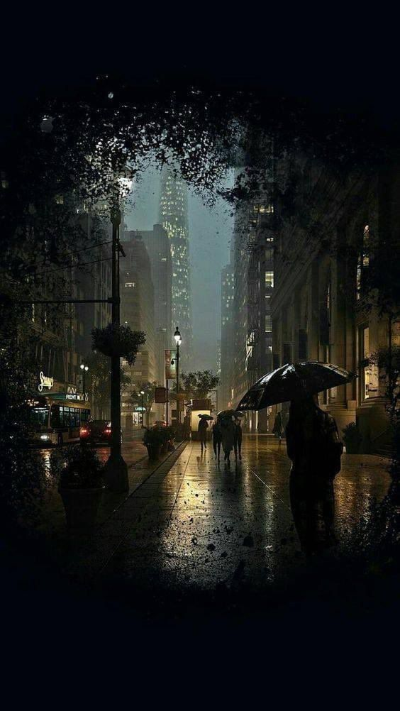 Kristin Lisa On Twitter Rainy Wallpaper Rainy Wallpaper Iphone City Rain