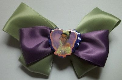Tiana Princess & The Frog Hair Bow by JENSTARDESIGNS on Etsy, $3.50