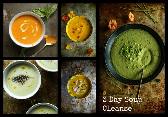 3 day soup cleanse: