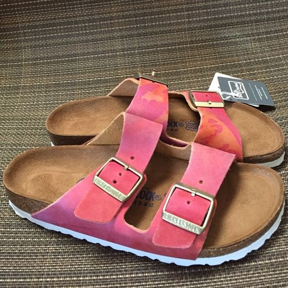 Brand Arizona soft footbed sandals New without box, euro size 38 Birkenstock Shoes Sandals