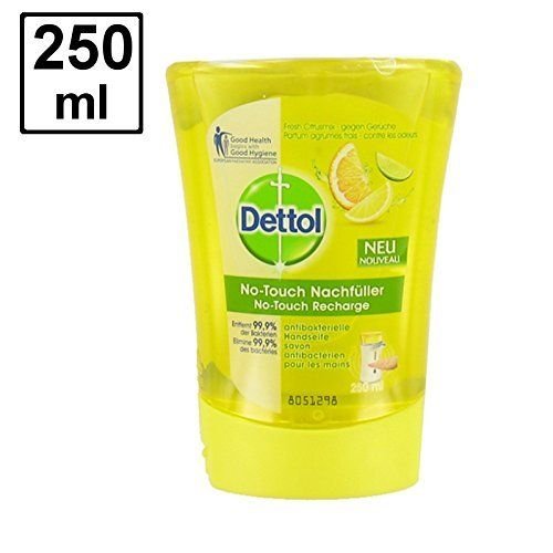Dettol No Touch Refill Anti Bacterial Hand Wash Odour Neutralising