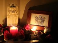 Altar dedicated to Hekate