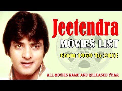 Jeetendra Movies List 1959-2013 ( Bollywood News ) | Movie list, Movies,  Bollywood news
