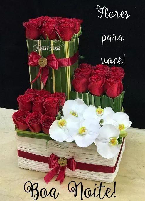 Boa Noite Flores Pra Voce Com Imagens Fotos De Boa Noite