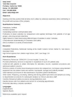 Phlebotomy Flashcards Proven Phlebotomy test flashcards raise - phlebotomy technician resume