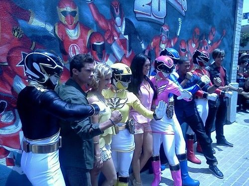 Cast and Rangers