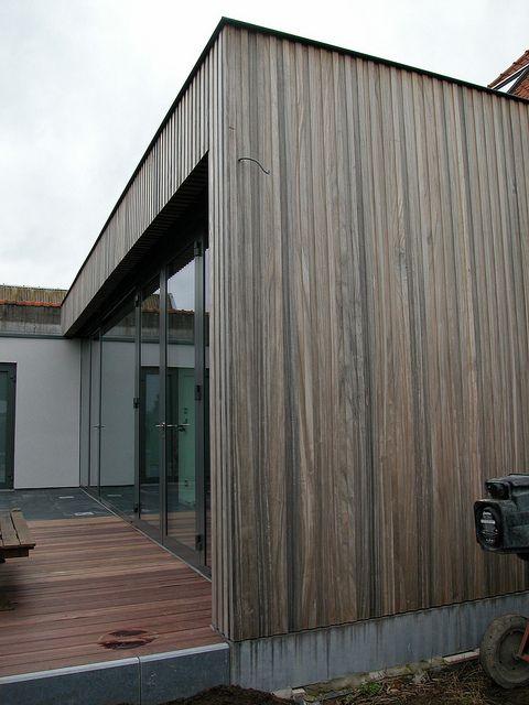 Gevel hout verticaal google zoeken gevels pinterest google en zoeken - Moderne huis gevel ...