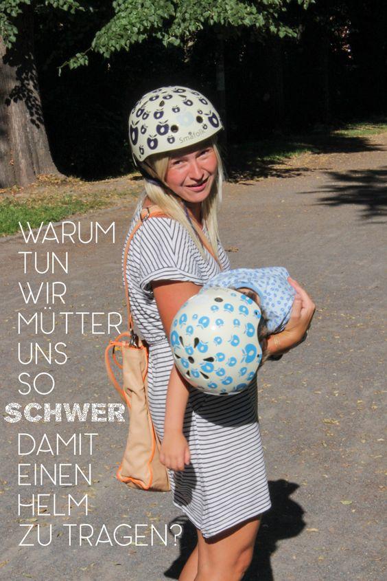 Fahrradhelm Småfolk für Kind und Muddi - und DDR-Kinderfahrradsitz