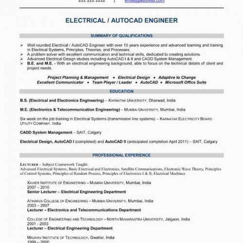 73 Cool Photos Of Resume Samples Electronics Engineering Check More At Https Www Ourpetscrawley Com 73 Cool Photos Of Resume Samples Electronics Engineering