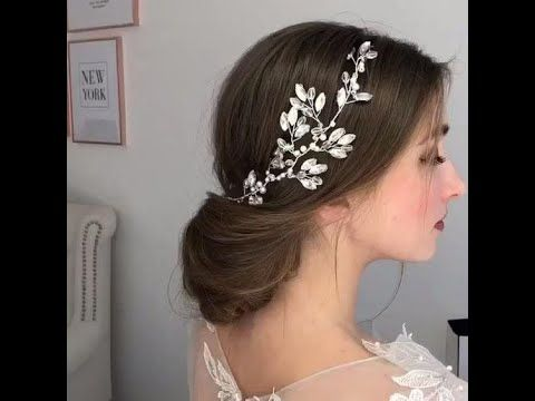 تسريحات شعر للمناسبات و الاعراس تجنن Youtube Wedding Hair Side Elegant Wedding Hair Wedding Hair Inspiration