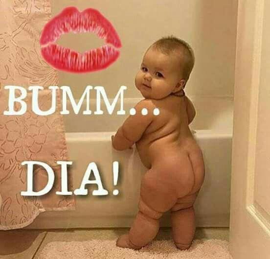 Bumm, Bom dia do bb mostrando o bum bum