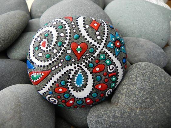 Glücklich Galaxy / Griechisch River Rock von LoveFromCapeCod
