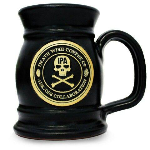 Death Wish Coffee Valhalla Java Mug