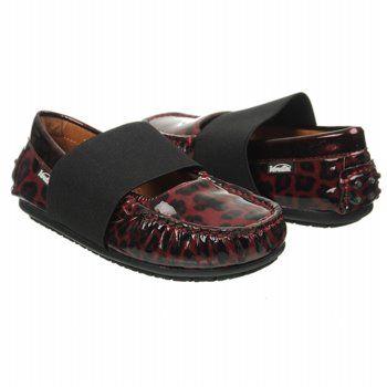 Venettini Lily Tod/Pre/Grd Shoes (Bordo Leopard) - Kids' Shoes - 24.0 M