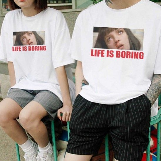 Instagram Da Twist Shout T Shirt Modeli Bio Kismindaki Linkte Mevcuttur Life Is Boring Olarak Aratabilirsin Novelty Tee Shirts Bored Shirt Womens Shirts