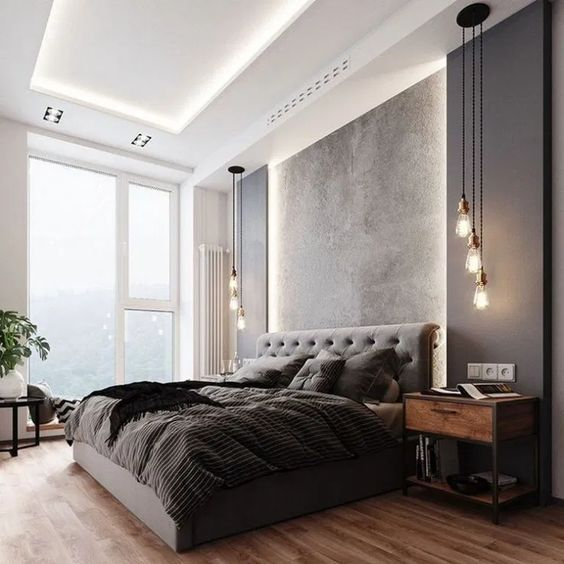 72 Romantic Bedroom Ideas for Couples for More Comfy #bedroom #bedroomdesign #bedroomideas | Home Design Ideas
