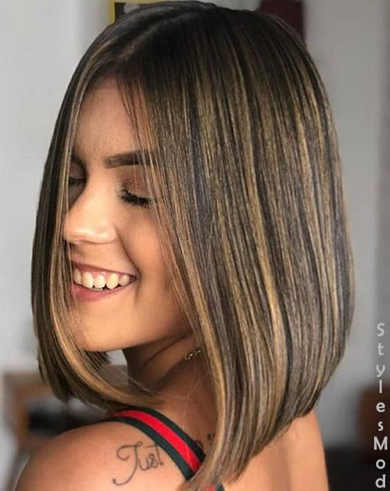 Lovely Bob Haircuts Hairstyle Trends For Girls In 2018 Short Bob Hairstyles Bob Hairstyles Hair Styles