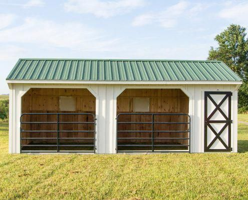 Cow Barn Plans New 12x24 Horse Barn Sheep Shedideas In 2020 Horse Barn Plans Livestock Barn Small Horse Barn Plans